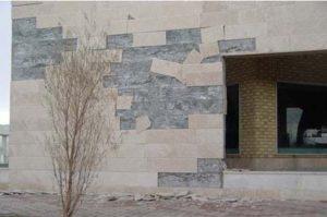 پیچ رولپلاک نمای ساختمان